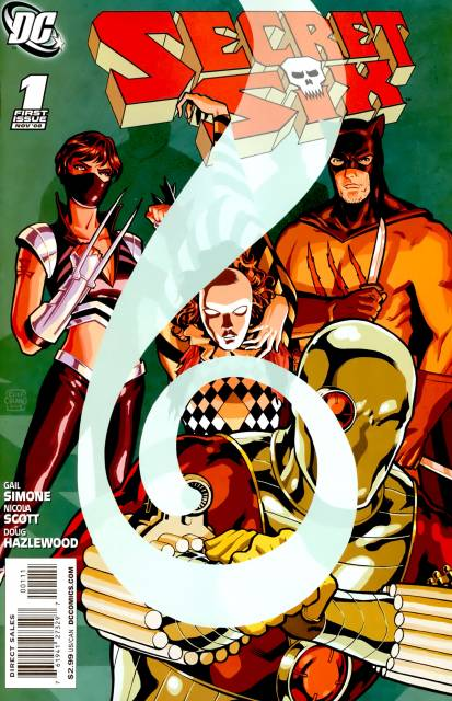 Secret Six (2008) no. 1 - Used