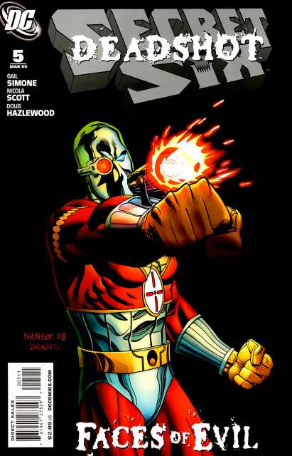 Secret Six (2008) no. 5 - Used