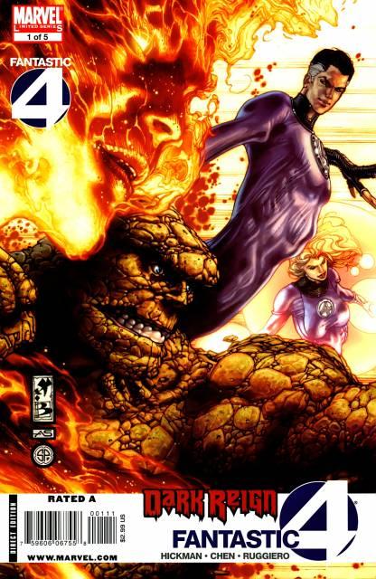Dark Reign Fantastic Four (2009) Complete Bundle - Used