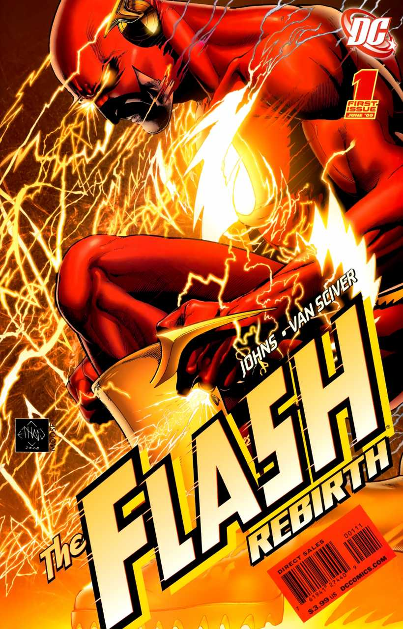 The Flash Rebirth (2009) Complete Bundle - Used