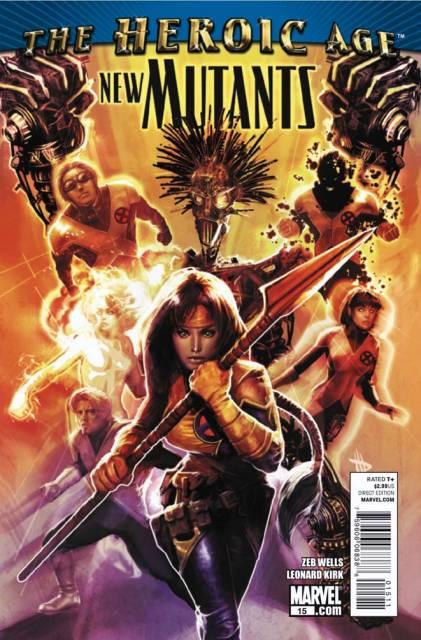 New Mutants (2009) no. 15 - Used