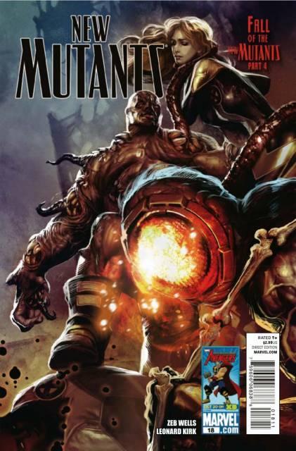 New Mutants (2009) no. 18 - Used