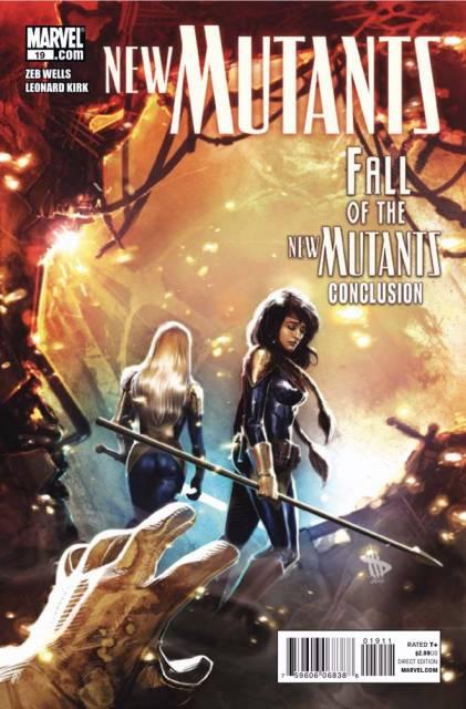 New Mutants (2009) no. 19 - Used
