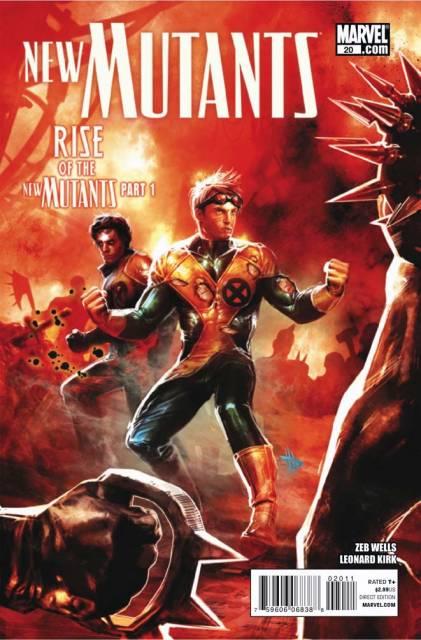 New Mutants (2009) no. 20 - Used