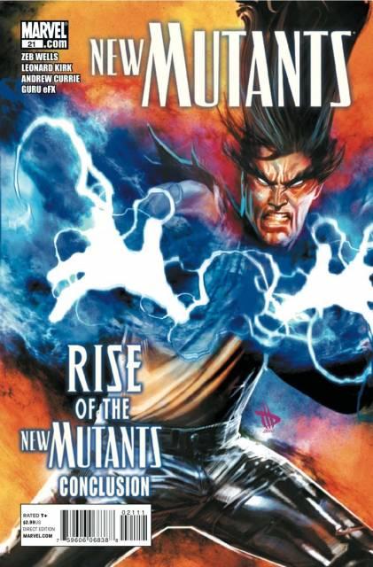 New Mutants (2009) no. 21 - Used