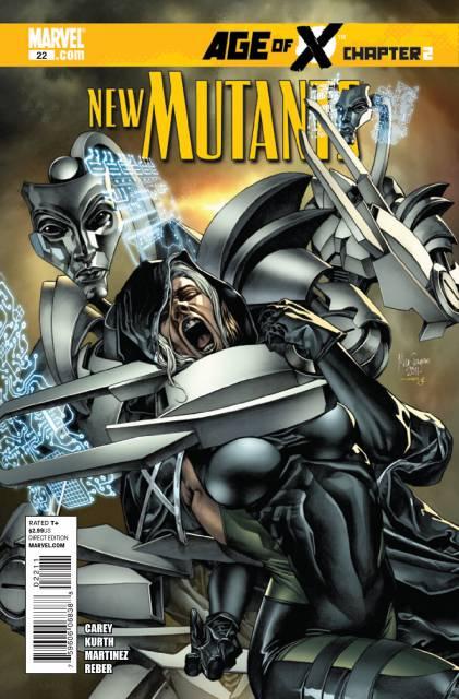 New Mutants (2009) no. 22 - Used