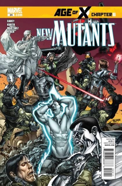 New Mutants (2009) no. 24 - Used