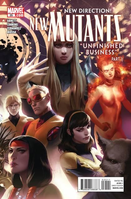 New Mutants (2009) no. 25 - Used