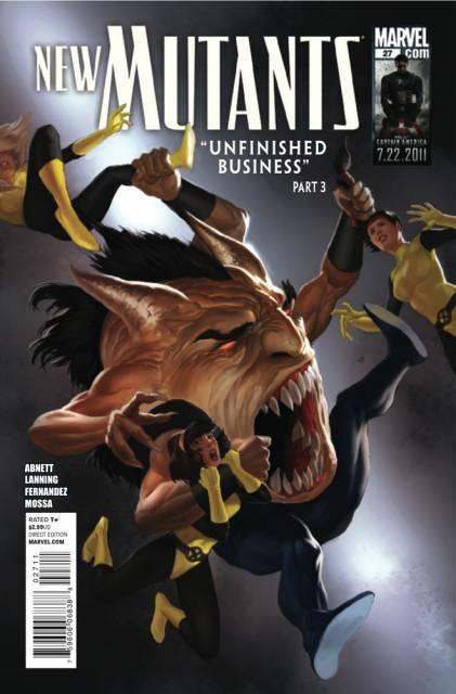 New Mutants (2009) no. 27 - Used