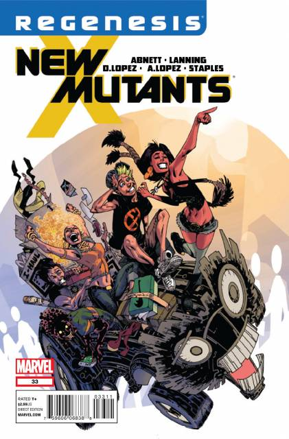 New Mutants (2009) no. 33 - Used