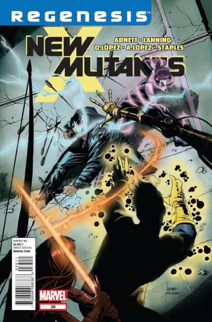 New Mutants (2009) no. 35 - Used