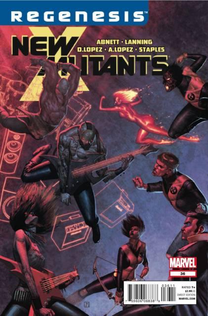 New Mutants (2009) no. 36 - Used