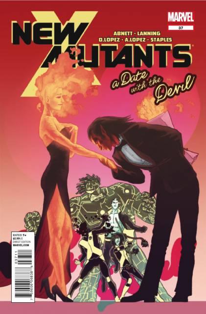 New Mutants (2009) no. 37 - Used