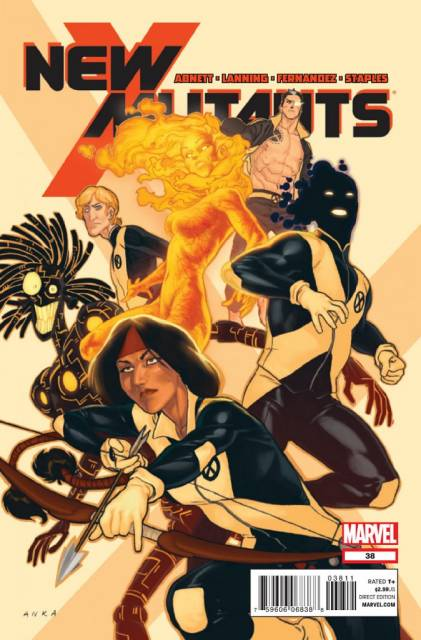New Mutants (2009) no. 38 - Used
