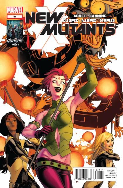 New Mutants (2009) no. 41 - Used
