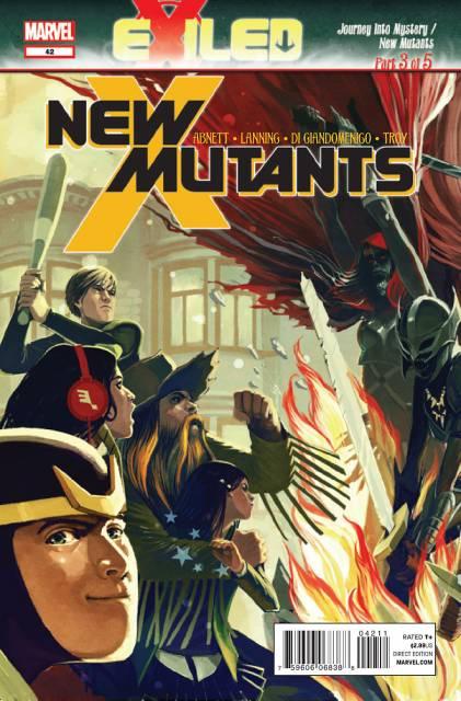 New Mutants (2009) no. 42 - Used