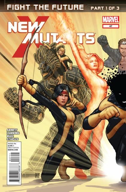 New Mutants (2009) no. 47 - Used