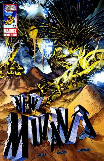 New Mutants (2009) no. 5 - Used