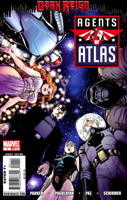 Agents of Atlas (2009) Complete Bundle - Used