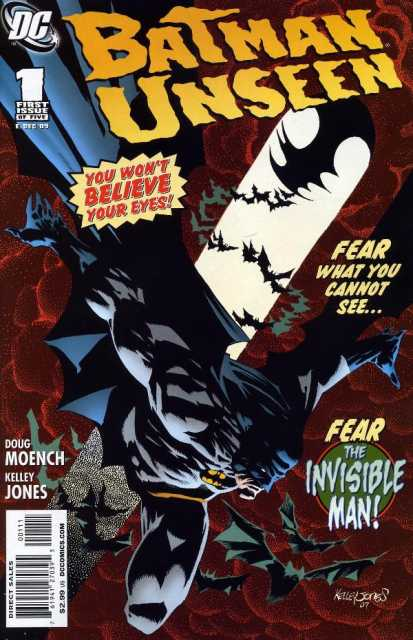 Batman Unseen (2009) Complete Bundle - Used