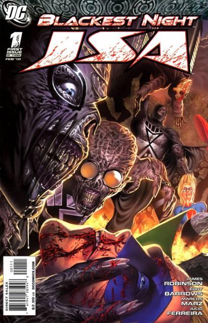 Blackest Night: JSA (2009) Complete Bundle - Used