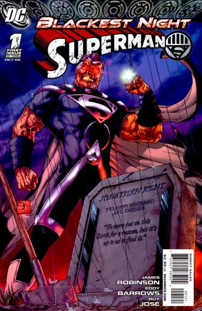 Blackest Night Superman (2009) Complete Bundle - Used