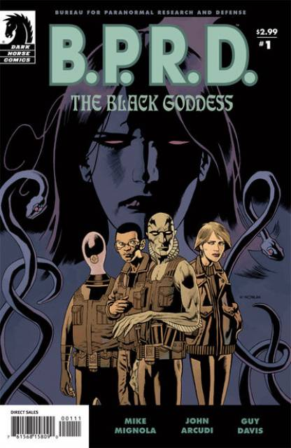 BPRD The Black Goddess (2009) Complete Bundle - Used