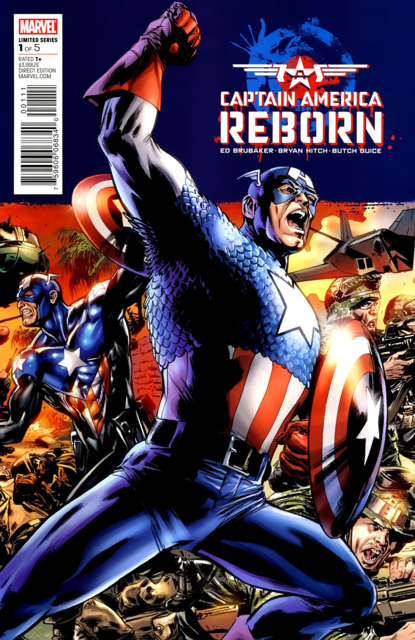 Captain America Reborn (2009) Complete Bundle - Used