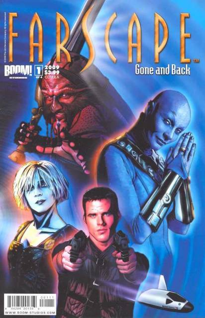 Farscape Gone and Back (2009) Complete Bundle - Used