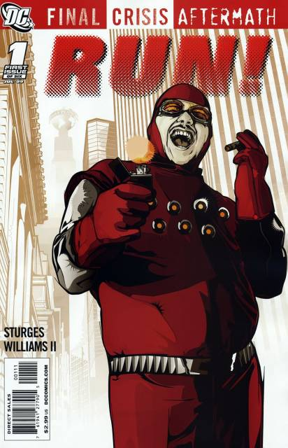 Final Crisis: Aftermath: Run (2009) Complete Bundle - Used