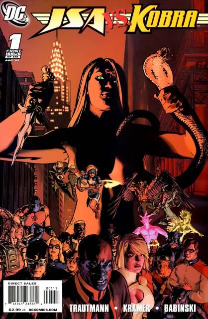 JSA vs Kobra (2009) Complete Bundle - Used