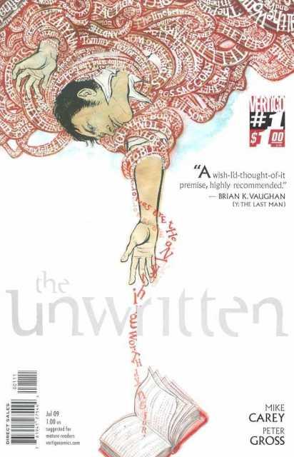 Unwritten (2009) no. 1 - Used