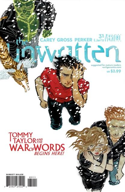 Unwritten (2009) no. 31 - Used