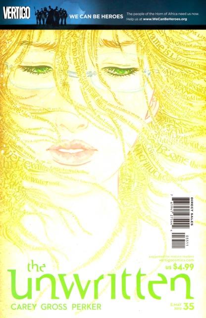 Unwritten (2009) no. 35 - Used