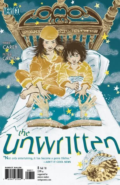 Unwritten (2009) no. 8 - Used