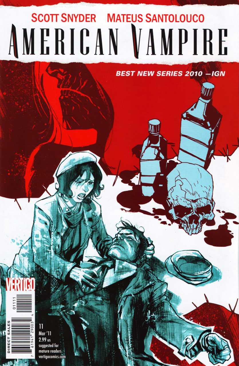 American Vampire (2010) no. 11 - Used