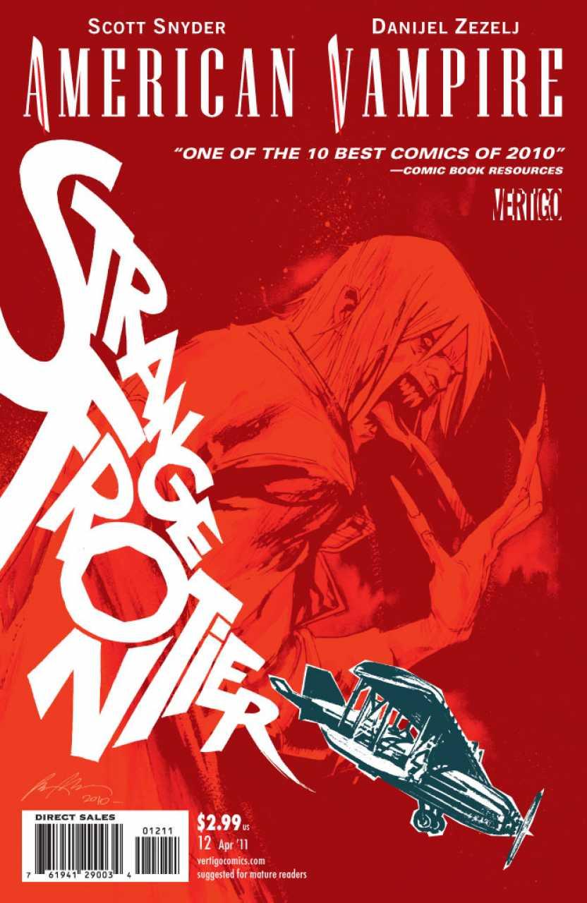 American Vampire (2010) no. 12 - Used