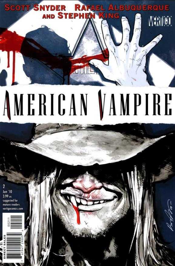 American Vampire (2010) no. 2 - Used