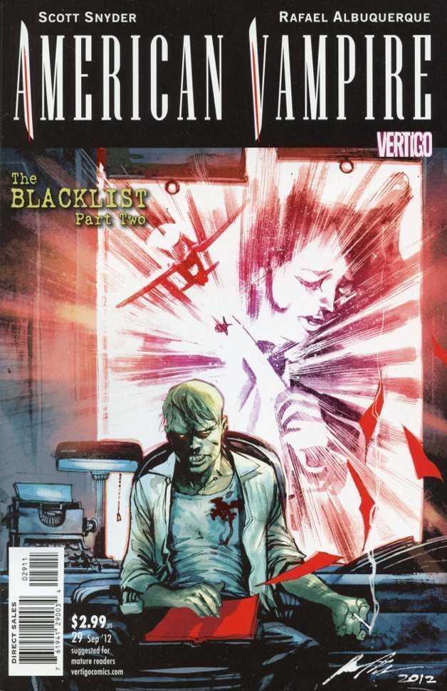 American Vampire (2010) no. 29 - Used