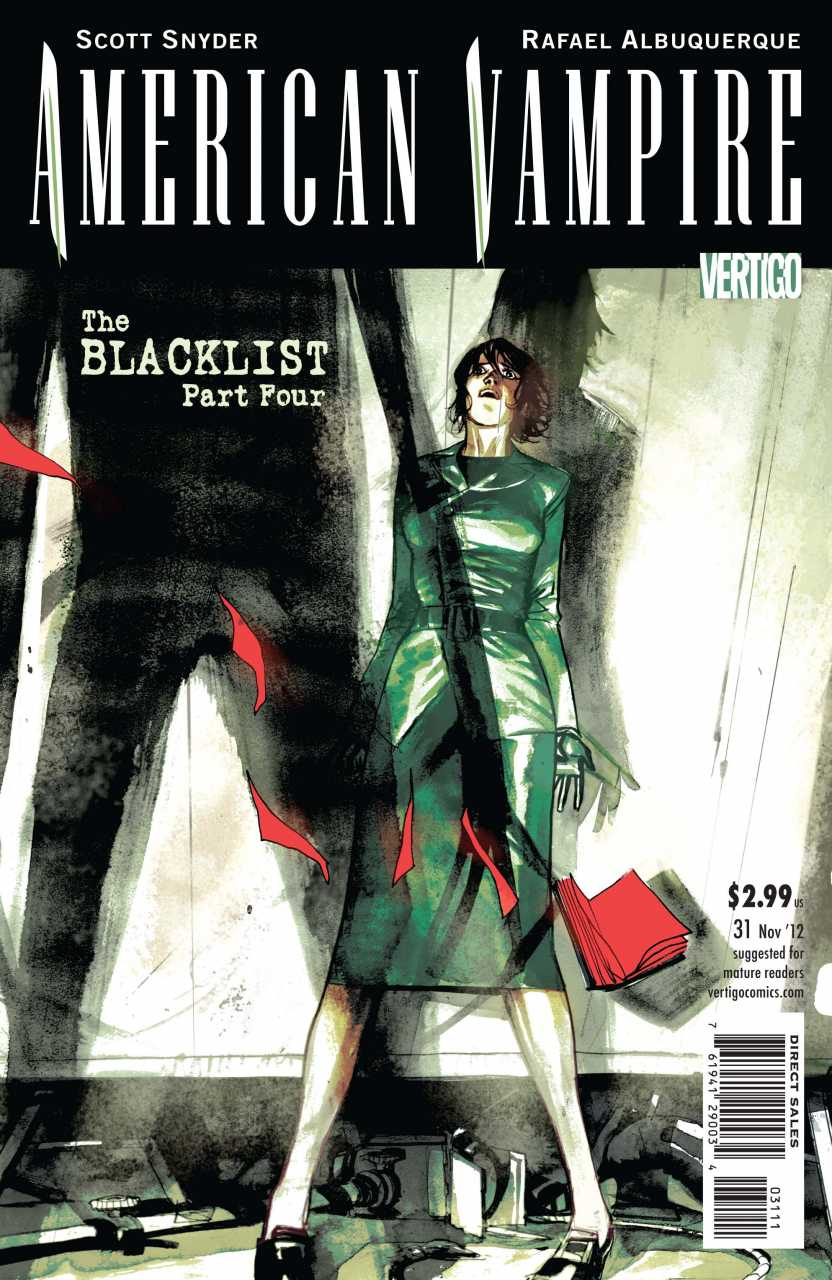 American Vampire (2010) no. 31 - Used