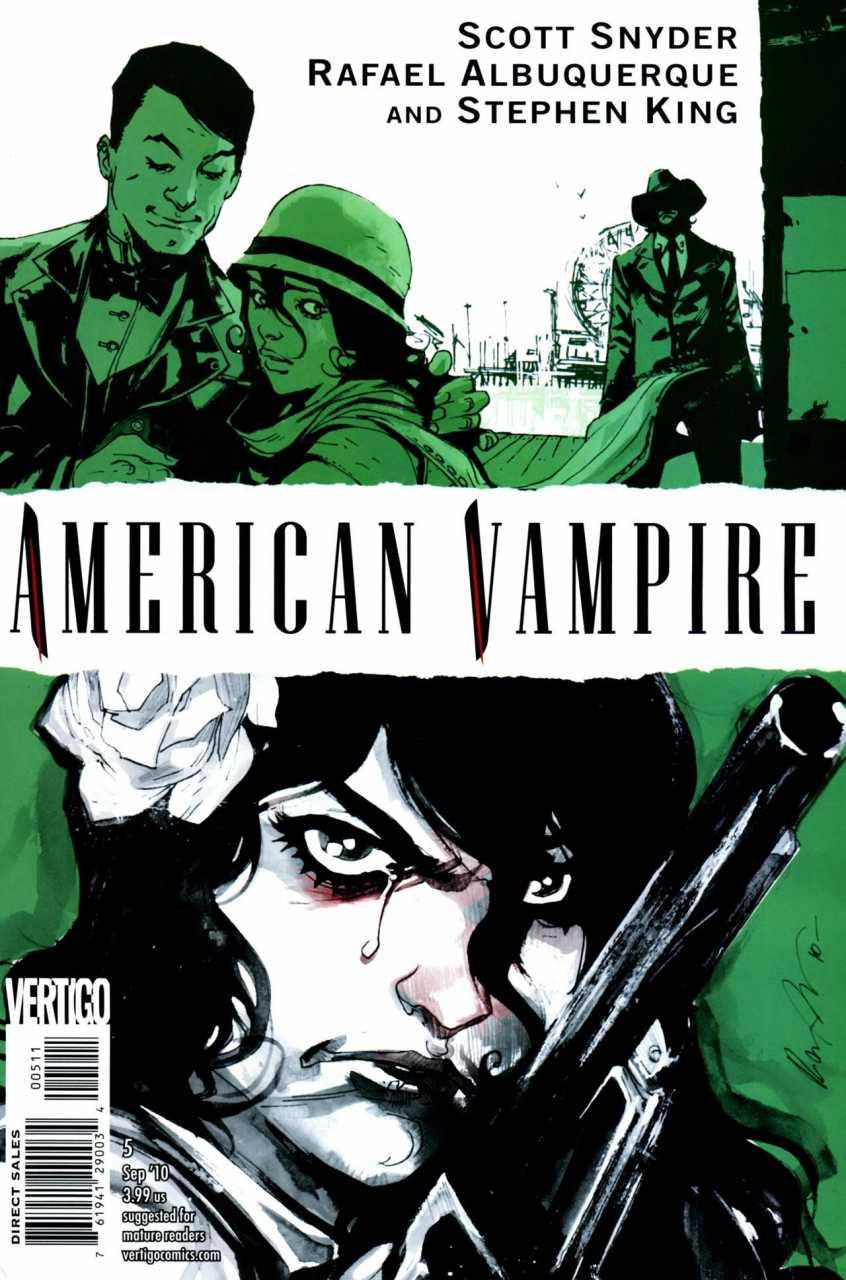 American Vampire (2010) no. 5 - Used