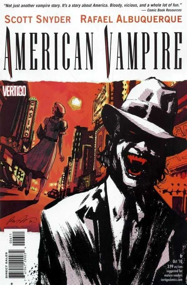 American Vampire (2010) no. 6 - Used