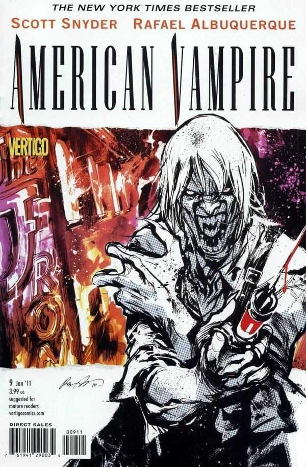 American Vampire (2010) no. 9 - Used