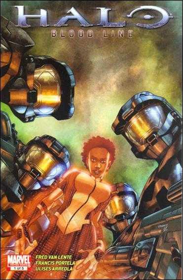 Halo Blood Line (2009) Complete Bundle - Used
