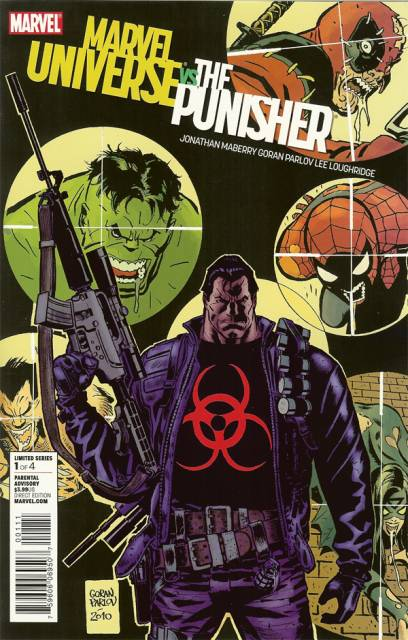 Marvel Universe vs The Punisher (2010) Complete Bundle - Used
