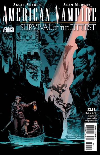 American Vampire: Survival of the Fittest (2011) no. 3 - Used