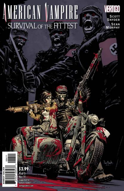 American Vampire: Survival of the Fittest (2011) no. 4 - Used