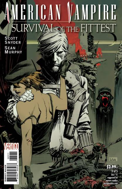 American Vampire: Survival of the Fittest (2011) no. 5 - Used