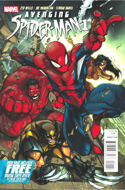 Avenging Spider-Man (2011) no. 1 - Used