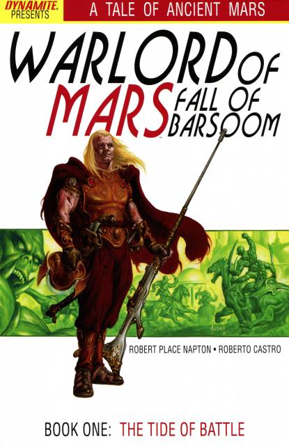 Warlord of Mars: Fall of Barsoom (2011) Complete Bundle - Used